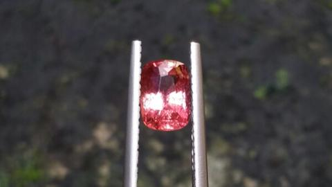 Natural Unheated Padparadscha Sapphire eye clean Top Color lusterous