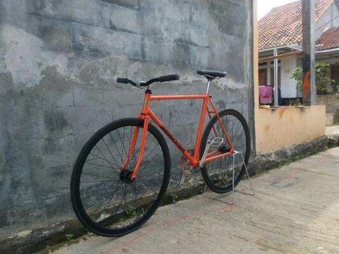 Fixie classic Right way embel aman siap pakai