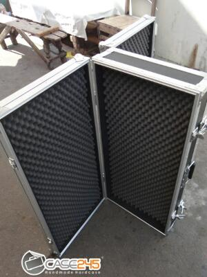 Case245 flightcase custom airsoftgun , handgun