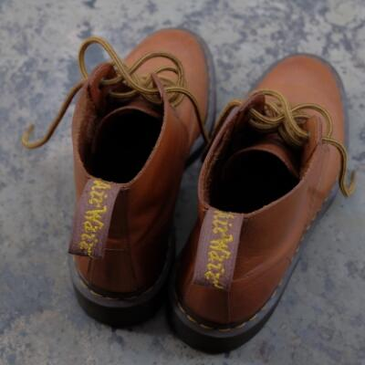 Dr Martens ALI Brown Rugged Servo Lux 2nd 97%