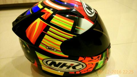 Helm Nhk Gp Tech Rossi Element