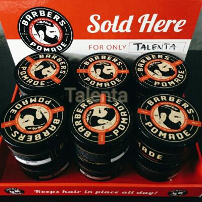 Barbers pomade waterbased kemasan besar 3.5oz Black edition