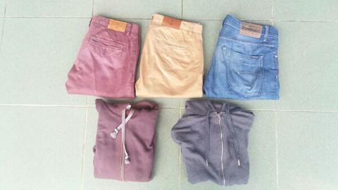Jual celana chino jeans the executive bombboogie zipper hoodie gildan h&m original
