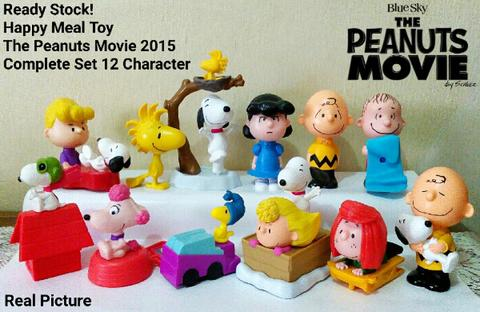 Snoopy & Charlie Brown : The Peanuts Movie - Happy Meal Toy