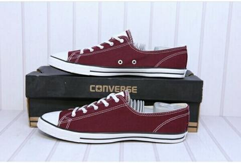 Converse CT Fancy Ox Bor Deep Bordeau