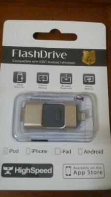 Flashdisk + otg 16gb compatible ios/android/window