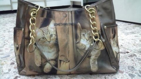 Tas Kucing Motif | shoulder bag