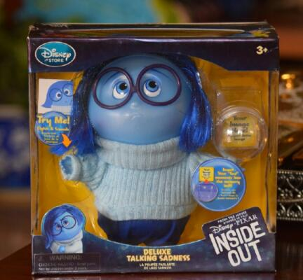 Inside Out - Sadness : Deluxe Light-Up Talking Figure