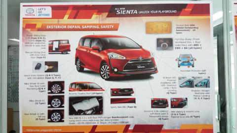 Indent Toyota Sienta Now.......
