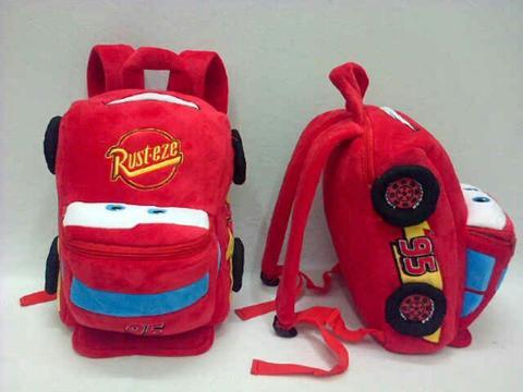 Import Tas Ransel Cars Mcqueen 32cm 2 resleting