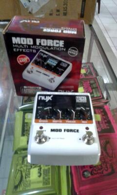 Jual effects Guitar Nux Mod Force Multi Modulation Effects