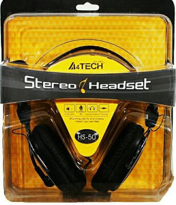 A4rtech HS-50 Stereo Headset ( Black )