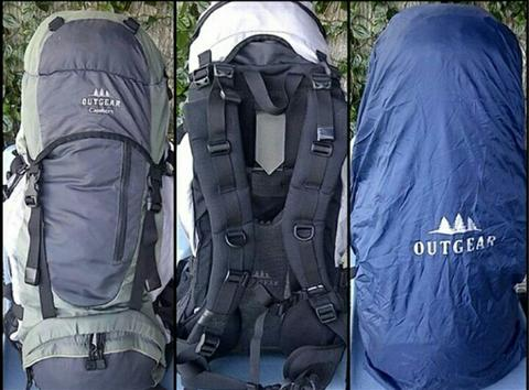 Carrier outgear capehorn 55 + 10 lt (not deuter jckwolfskin mamooth columbia eiger)