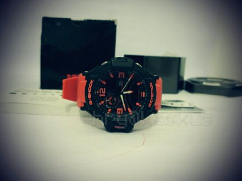 Casio Gshock Grafity Defier GA1000 Rescue Orange