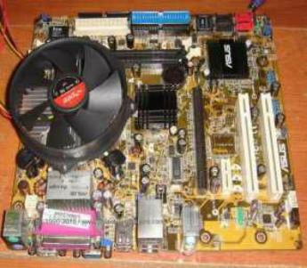 Mobo Asus P5RD1-VM + Proci Pentium 3.06GHz + HSF