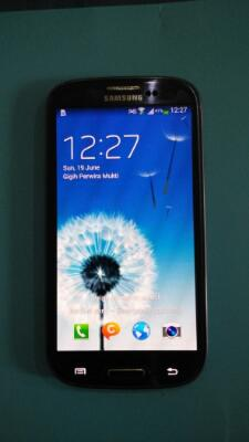 Samsung galaxy S3 pebble blue original