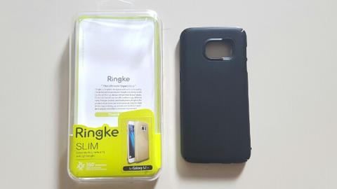 Rearth Ringke Slim Samsung Galaxy S7 Flat Hard Case SF Black Original