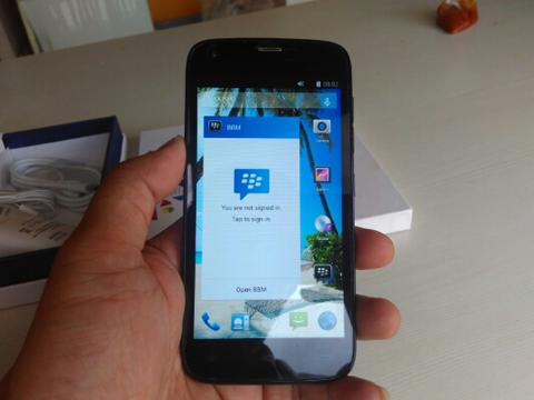 Advan S4D Gaia Black Mulus Tipis Ram 1GB Fullset Like New