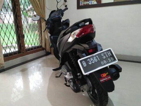 Honda Vario 150 Black Dove