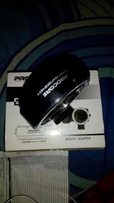 WTS adapeter procore ef-nex II canon ef mount to sony e-mount