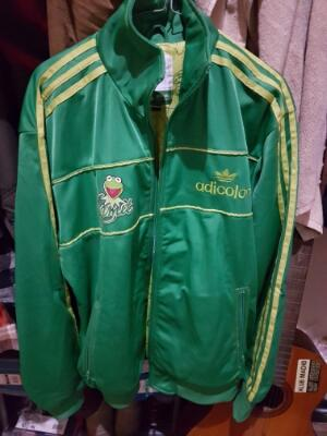 ADIDAS JACKET KERMIT ADICOLOR G4 ORIGINAL LIKE NEW