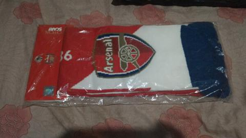 Syal Scarf Arsenal est 1886 Official Merchandise Original