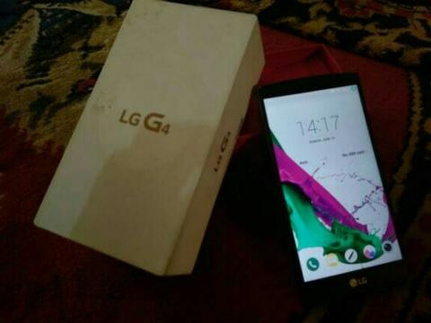 LG G4 Leather Brown Dual Sim Fullset