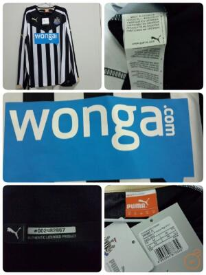 Original jersey newcastle home 14/15 LS bnwt