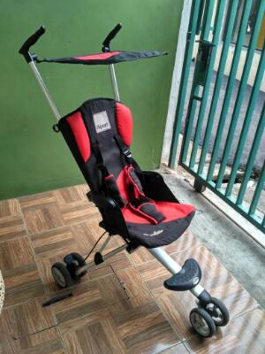 Stroller travel isport chocolate