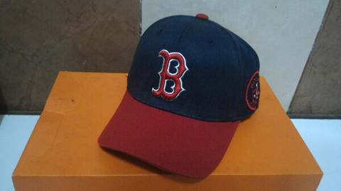 Terjual Topi Cap MLB Major League Baseball Boston Red Sox Original ... 82565b53b0