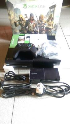 Xbox One Fullset Mulus Like New + 9 New Games.