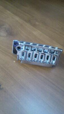 Sadle Block + Bridge 2 pivot copotan gitar cort