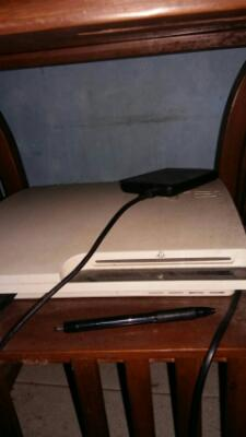 [ JUAL ] SONY PS3 SLIM WHITE / WARNA PUTIH BU!!!