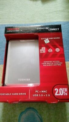 Hardisk Eksternal Toshiba Canvio Connect 2TB
