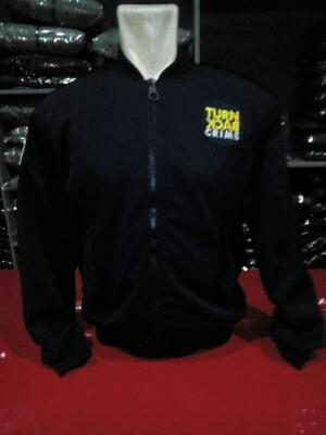 Jaket Bomber Turn Back Crime