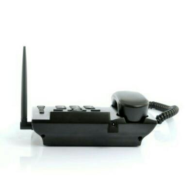 Wireless gsm deskphone support quadband dan sms function