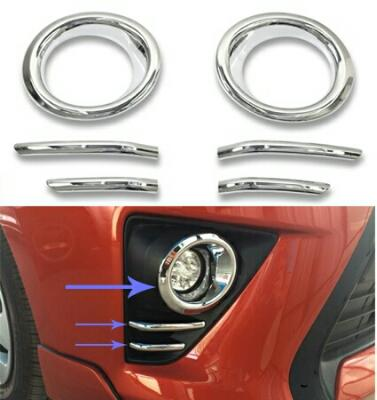 ALL NEW YARIS CHROME FOGLAMP COVER