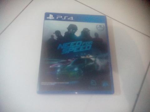 Need For Speed 2015 PS4 Reg3 Fullset Mulus Like New