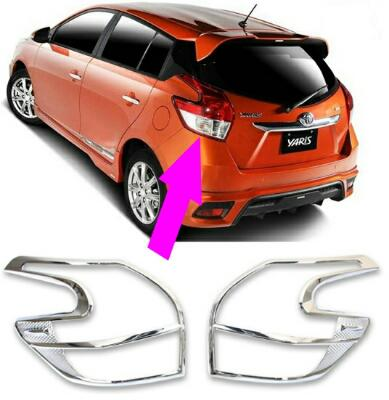 ALL NEW YARIS CHROME GARNISH LAMPU BELAKANG