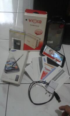 Samsung Note 2 Banyak Bonuss Plus Power Bank