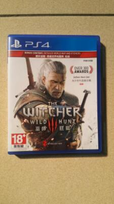 Jual bd ps 4 the witcher 3 wild hunt