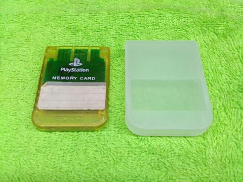 Memory Card / MC Playstation 1 / PS1 / PS 1 / PS One , Tested
