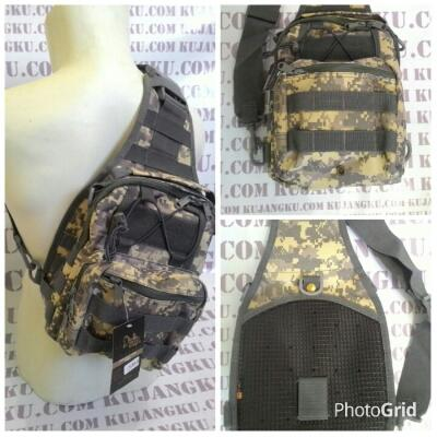 Tas selempang sling tunggal tactical army