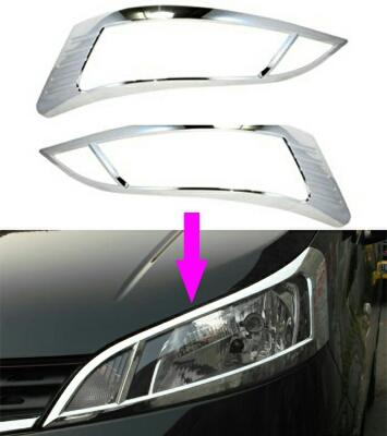 NISSAN EVALIA CHROME GARNISH HEADLAMP DEPAN