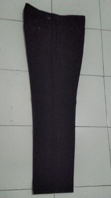 Celana hitam kain/formal/slim fit by LAWELL (Malang)