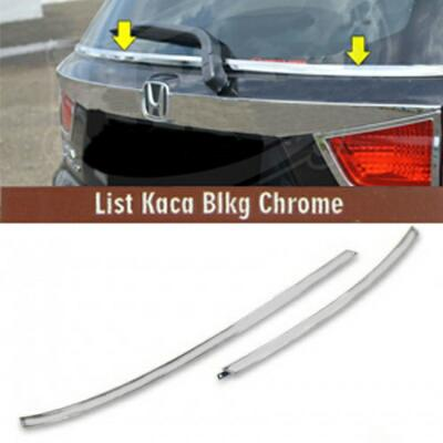HONDA MOBILIO CHROME LIST KACA BELAKANG BACK ADORNMENT