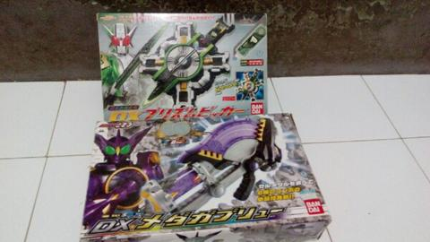 Dx kamen rider ozu dan double weapon