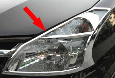 AVANZA XENIA CHROME GARNISH HEADLAMP DEPAN