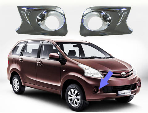 AVANZA XENIA CHROME FOGLAMP COVER