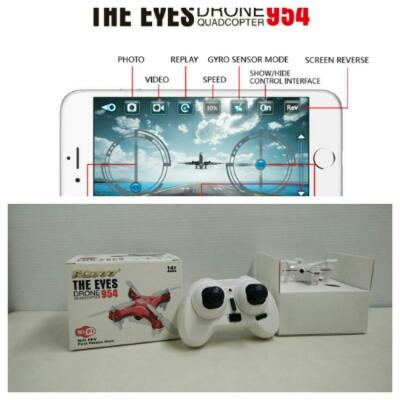 FQ777 Mini Drone Camera Wifi 954 + Remote Control